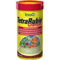 Корм TetraRubin Granules для улучшения окраса всех видов рыб, 250мл