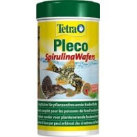 Корм Tetra Pleco Spirulina Wafers для сомов, чипсы, 250мл