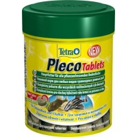 Корм Tetra Pleco Tablets со спирулиной для сомов и донных рыб, 120 таб.