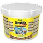 Корм Tetramin XL  корм для всех видов рыб, крупные хлопья, 10л