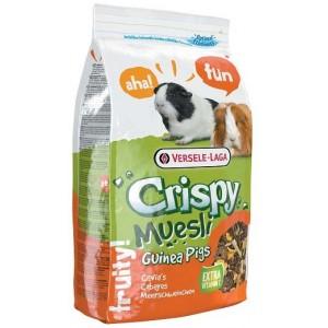 VERSELE-LAGA корм для морских свинок Crispy Muesli Guinea Pigs с витамином С 1кг