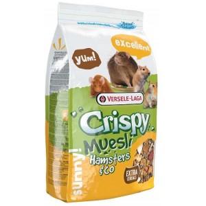 VERSELE-LAGA корм для хомяков и других грызунов Crispy Muesli Hamsters & Co 0,4 кг